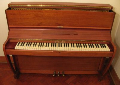 RESERVED - No 20 Challen Piano & Stool. R395.00 per month following Start Up Cost.