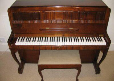 Knight Piano & Stool